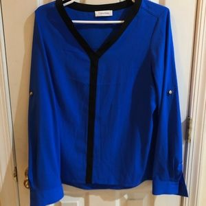 Calvin Klein Long Sleeve with adjustable sleeves
